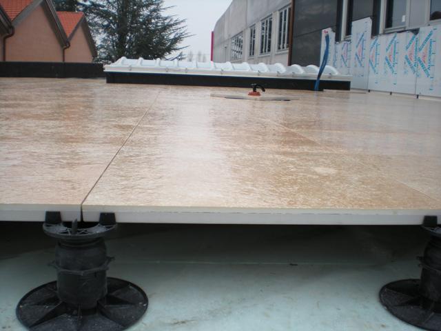 Evopanel outdoor pavimenti sopraelevati da esterno - Pavimento flottante esterno ...
